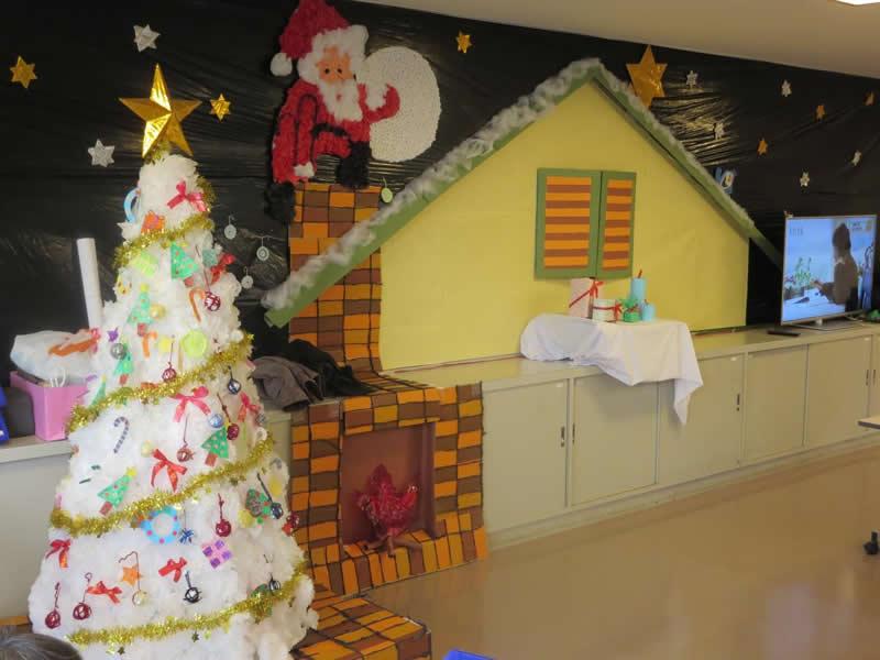 壁画(クリスマス)